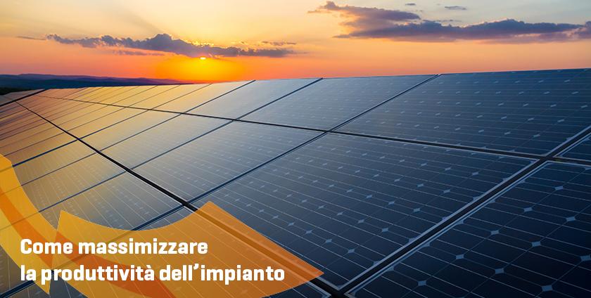 Energie Italiane - Massimizzare la produttività di un impianto
