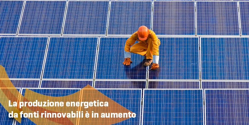 Energie Italiane - Produzione energetica di fonti rinnovabili in aumento